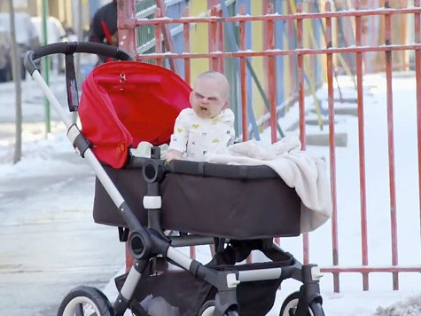 'Devil' Baby Marketing Scheme Scares New Yorkers Silly