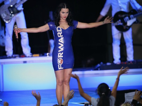 Katy Perry: I 'Might Have Won Wisconsin' for Obama in 2012