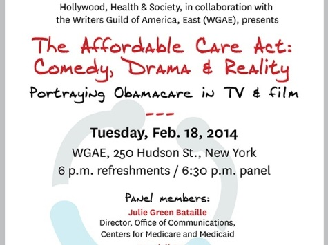 Exclusive: Hollywood Brainstorms 'Portraying ObamaCare in TV & Film'