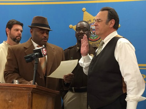Criminal Buster: Dan Aykroyd Sworn in as Sheriff's Deputy