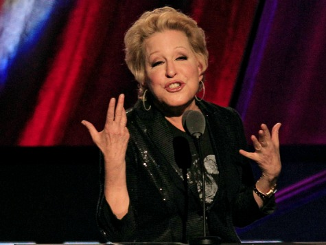 Bette Midler: Snow in South Proves Climate Change Exists
