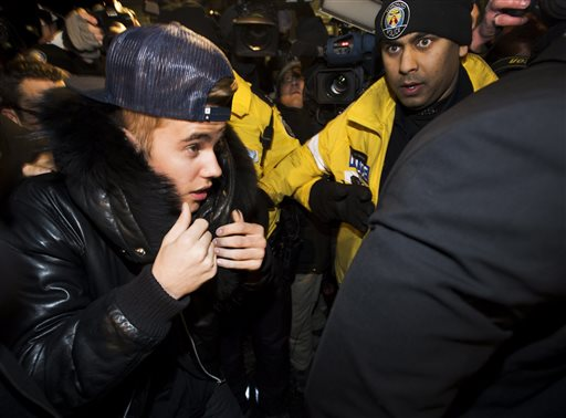 Justin Bieber Charged with Assault in Canada