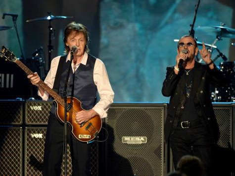 Grammy's Beatles Tribute Scores Solid, Not Olympic-Sized, Ratings
