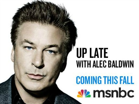 Alec Baldwin Lands First TV Acting Gig Since MSNBC Fiasco
