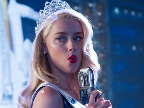 Amber Heard Hearts Slinging Lead on Screen