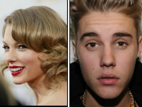 Taylor Swift, Justin Bieber Show Two Sides of Being Young and Famous