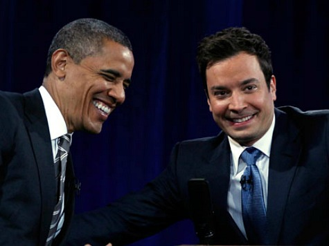 Jimmy Fallon's ObamaCare Slam Scores Big, Sustained Laugh