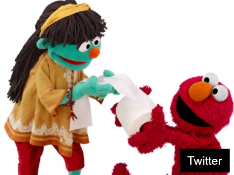 'Sesame Street' Introduces Raya, the Poop Muppet