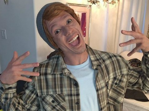 Black Comic Nick Cannon Puts on White Face to Promote Satirical Album