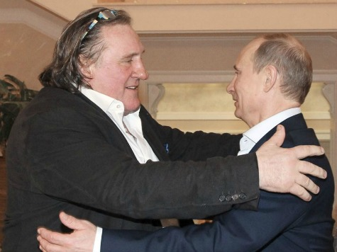 Gérard Depardieu Promotes 'Proud to be Russian' Watches