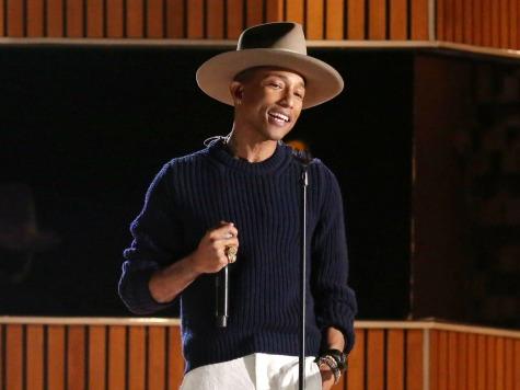 Pharrell Profiles Tea Party as Racists Who Make 'N-word' Jokes