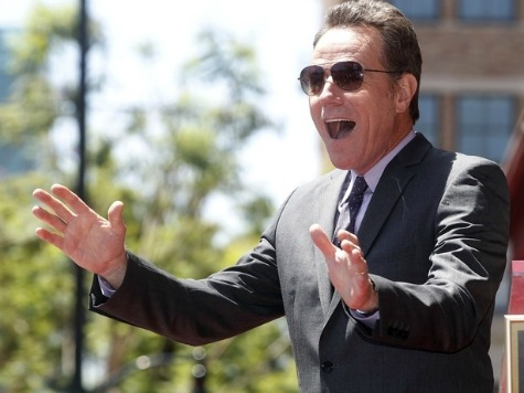 'Breaking Bad's' Bryan Cranston: ObamaCare 'Fantastic, Wants More Obama Executive Orders