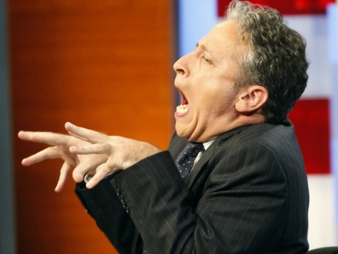 Jon Stewart Mocks President George W. Bush's 'Childlike' Art