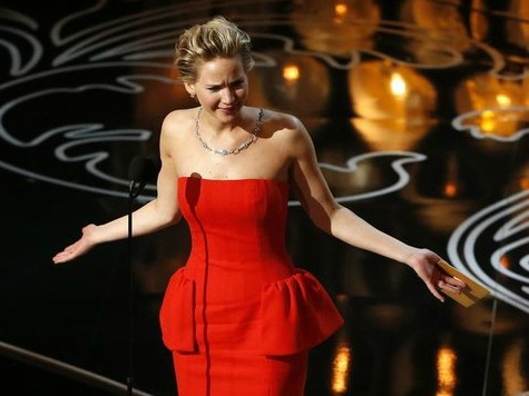 Jennifer Lawrence Gives Paparazzi the Finger During Date with Co-Star Nicholas Hoult