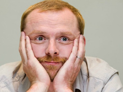 Simon Pegg Scolds Climate Change 'Deniers,' Says They'll Be Drowning, Burning or Starving