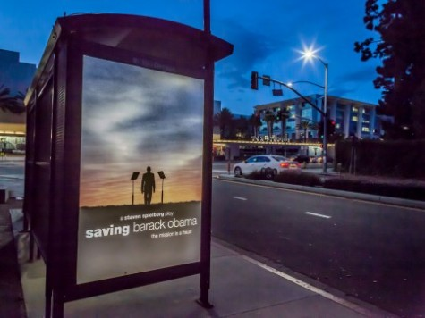 'Saving Barack Obama': Parody Movie Posters Greet Obama In Los Angeles