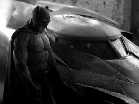 Still of Ben Affleck as Batman Flexes Social Media Marketing Muscle