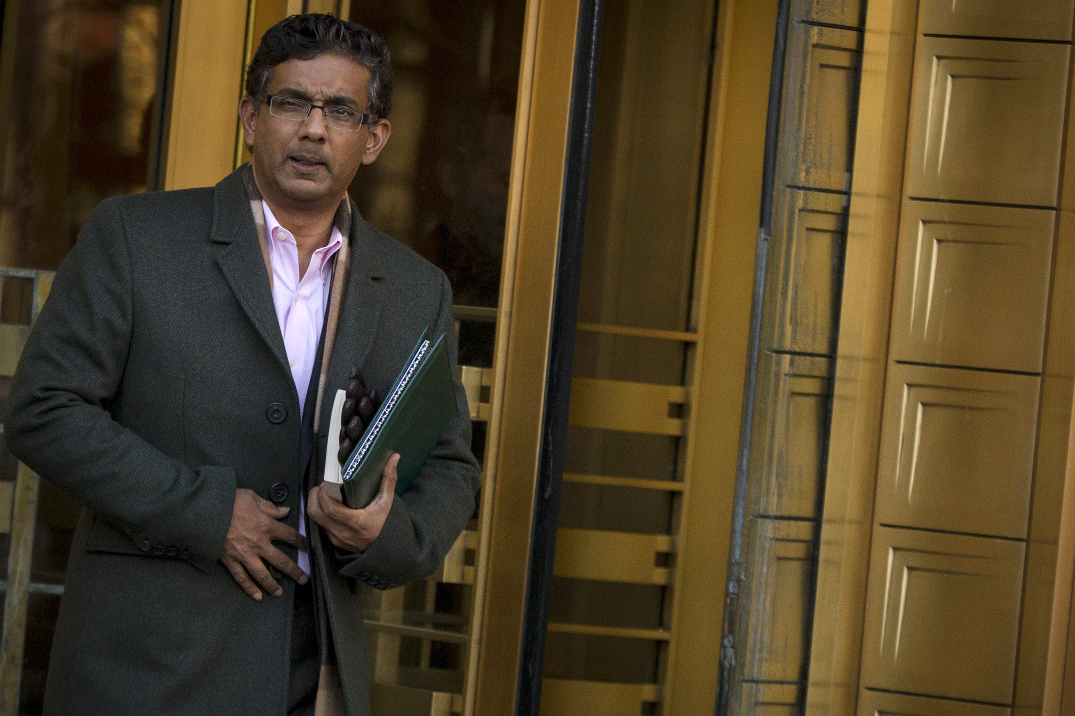 D'Souza Pleads Guilty to U.S. Campaign Finance Law Violation