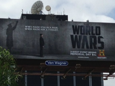 History Channel's 'World Wars' Ad Says WWII Made Stalin a Tyrant