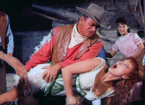 'McLintock!' Bluray Review: Feminists Beware – John Wayne Tames a Shrew