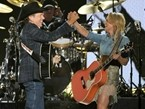 Country's All-Stars Salute George Strait on Singer's Final Tour Stop