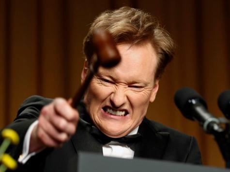 Conan O'Brien Hammers Obama, Presidency in 'Free Fall'
