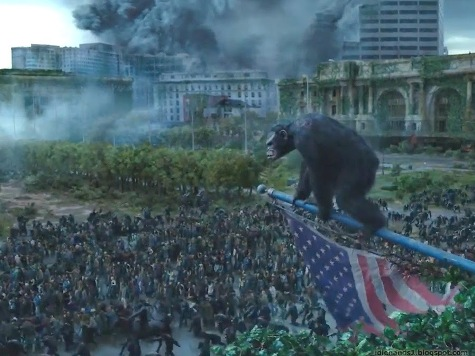 'Dawn of the Planet of the Apes' Review:  Exciting, Tense & Pro-Human