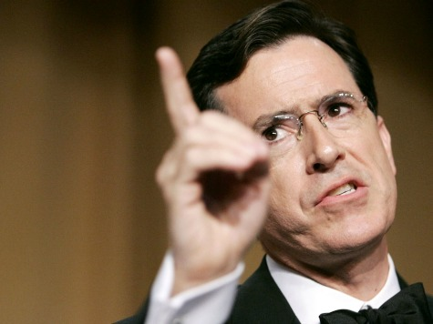Stephen Colbert Doubles Down on AG Holder's 'Racial Animus' Attack on GOP