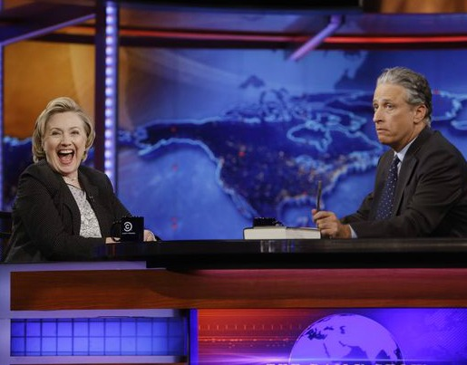 Jon Stewart Unofficially Joins Hillary 2016 Campaign