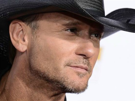 Tim McGraw Smacked Female Fan at Concert