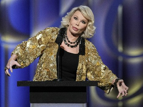 Joan Rivers on Middle East Crisis: 'Palestinians Started It!'