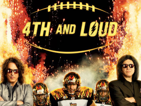 Gene Simmons and AMC Go '4th and Loud' for Arena Football