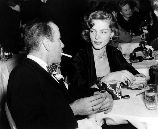 Lauren Bacall's Legend More than Just Acting, Ties to Humphrey Bogart
