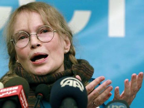 Mia Farrow Calls Rick Perry Indictment Political … Then Deletes Tweet