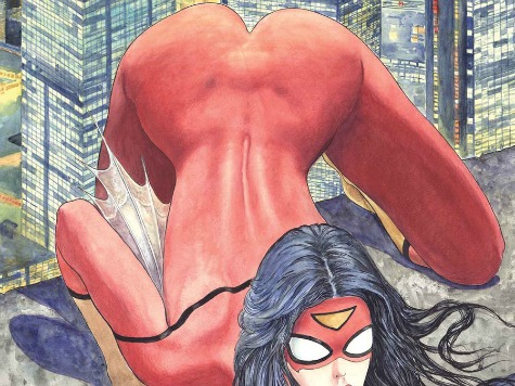 Female Comics Fans Upset Over Spider Woman's Ass