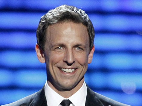 Seth Meyers Avoids Politics, Embraces Insider Gags During Emmys Monologue