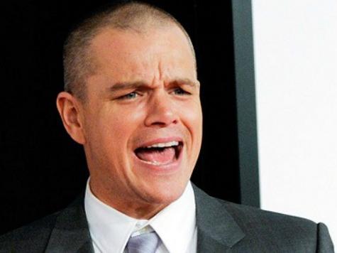 Matt Damon Does ALS Ice Bucket Challenge with Toilet Water