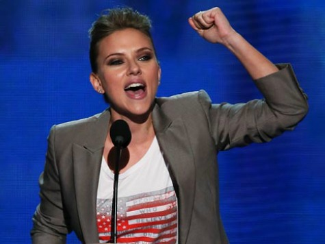 Scarlett Johansson Launches Pro-Abortion T-Shirt Line with Planned Parenthood