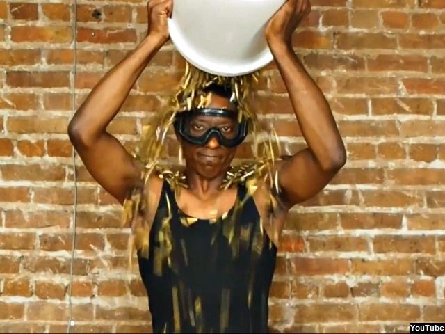 Orlando Jones: 'Reverse the Hate' Ice Bucket Challenge with Bullet Casings