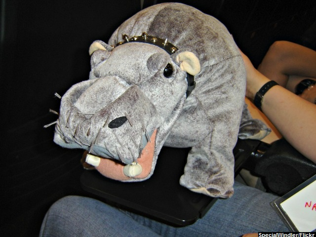 Lawsuit: CBS Sued over NCIS 'Farting Hippo' Prop
