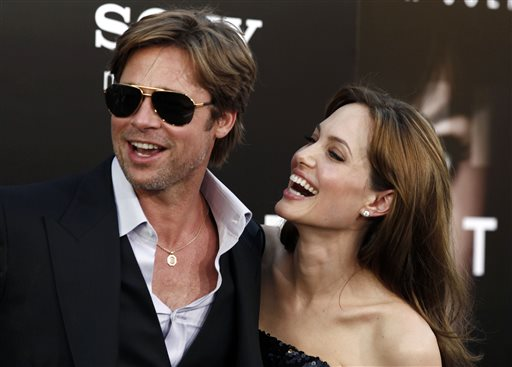 Jolie, Pitt Wed Privately at Chateau in France