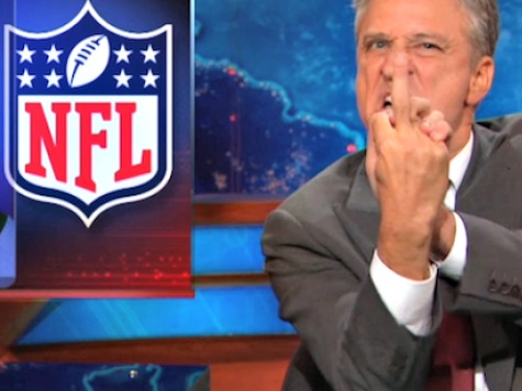 Jon Stewart Says NFL 'F*ked Up' over Ray Rice Video