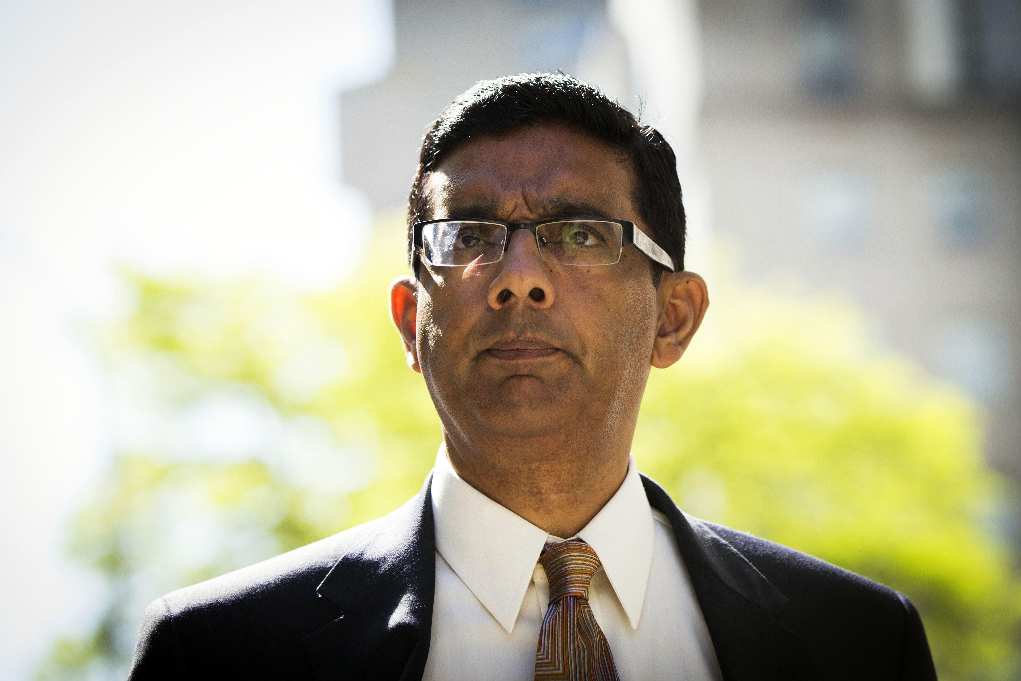 D'Souza Gets Community Confinement for Election Law Violation