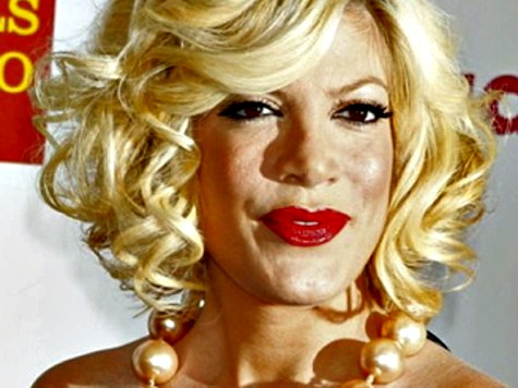 Tori Spelling Quarantined at Cedars Sinai Hospital, Doctors Suspect Enterovirus