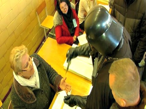 Darth Vader Runs for Prime Minister, Turned Away at Polling Station for Not Removing Mask