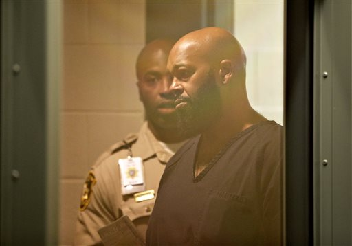 Suge Knight hospitalized after fall in Vegas jail