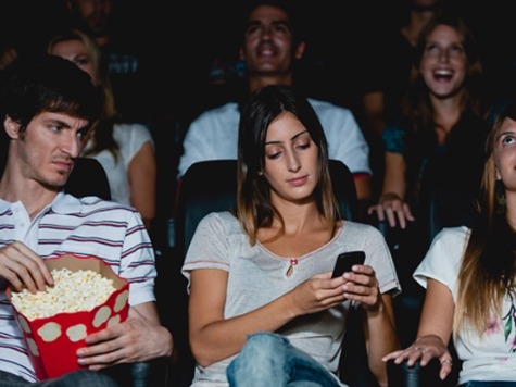 Woman Maces Man Who Asked her to Turn Off Cell Phone in a Theater