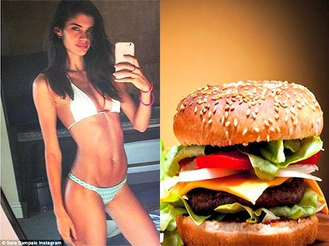 Victoria's Secret Model Hits Back at Skinny-Shaming Bullies: 'I Probably Eat More Burgers than You'