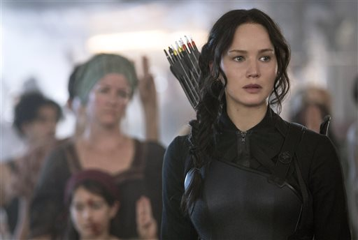 'Mockingjay, Part 1' Opens with $123 Million