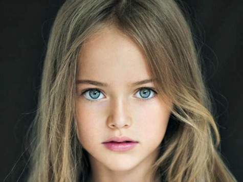 9-Year-Old Supermodel Dubbed 'World's Most Beautiful Girl'